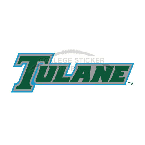 Diy Tulane Green Wave Iron-on Transfers (Wall Stickers)NO.6604