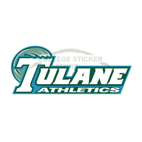 Diy Tulane Green Wave Iron-on Transfers (Wall Stickers)NO.6606