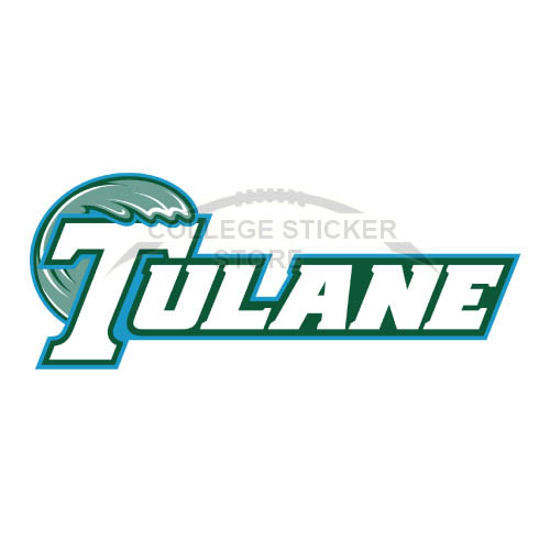 Diy Tulane Green Wave Iron-on Transfers (Wall Stickers)NO.6607