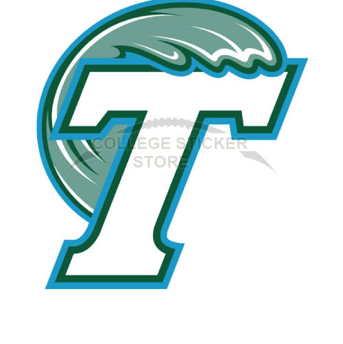 Diy Tulane Green Wave Iron-on Transfers (Wall Stickers)NO.6608