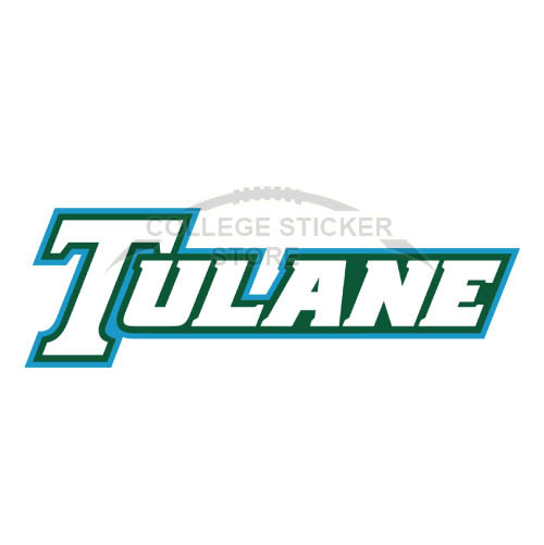 Diy Tulane Green Wave Iron-on Transfers (Wall Stickers)NO.6609