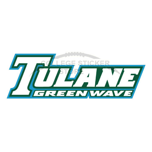 Diy Tulane Green Wave Iron-on Transfers (Wall Stickers)NO.6610