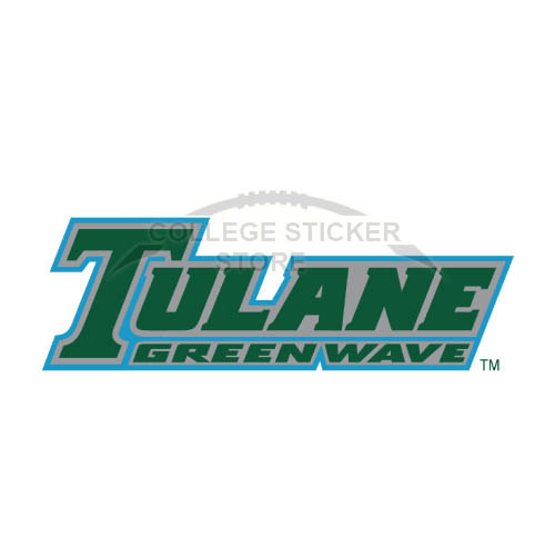 Diy Tulane Green Wave Iron-on Transfers (Wall Stickers)NO.6611