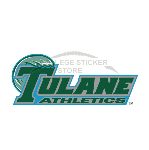 Diy Tulane Green Wave Iron-on Transfers (Wall Stickers)NO.6612