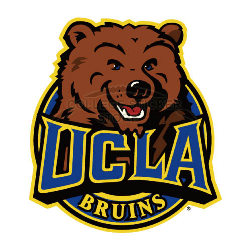 Diy UCLA Bruins Iron-on Transfers (Wall Stickers)NO.6644