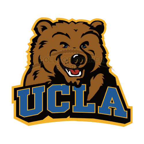 Diy UCLA Bruins Iron-on Transfers (Wall Stickers)NO.6647