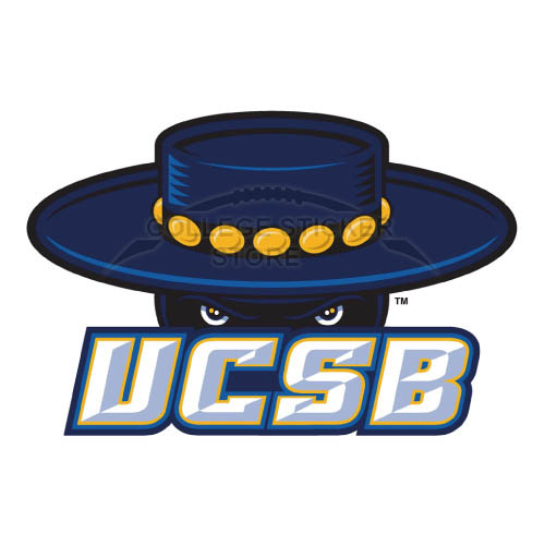 Diy UCSB Gauchos Iron-on Transfers (Wall Stickers)NO.6673