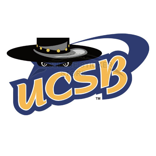 Diy UCSB Gauchos Iron-on Transfers (Wall Stickers)NO.6677