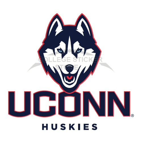 Diy UConn Huskies Iron-on Transfers (Wall Stickers)NO.6653