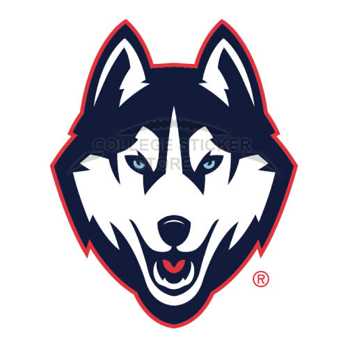 Diy UConn Huskies Iron-on Transfers (Wall Stickers)NO.6654