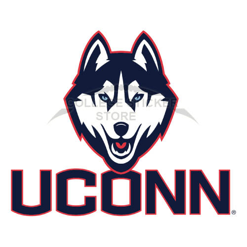 Diy UConn Huskies Iron-on Transfers (Wall Stickers)NO.6655
