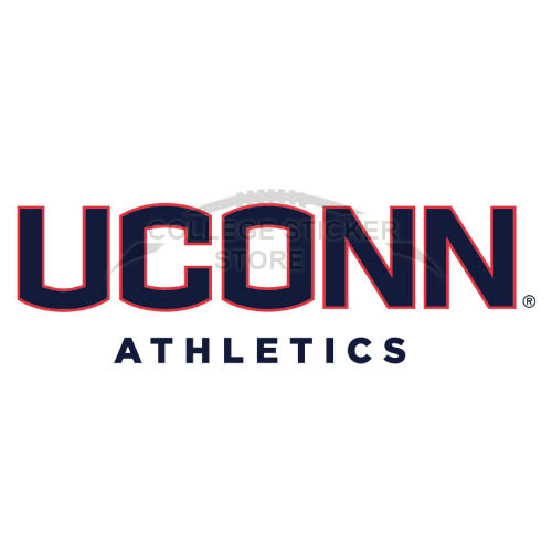 Diy UConn Huskies Iron-on Transfers (Wall Stickers)NO.6656