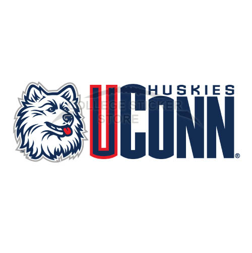 Diy UConn Huskies Iron-on Transfers (Wall Stickers)NO.6657
