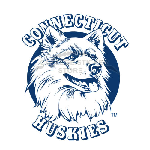 Diy UConn Huskies Iron-on Transfers (Wall Stickers)NO.6664