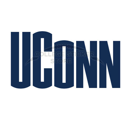 Diy UConn Huskies Iron-on Transfers (Wall Stickers)NO.6665