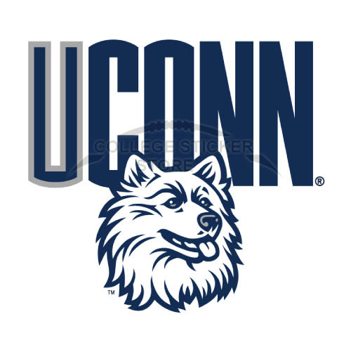 Diy UConn Huskies Iron-on Transfers (Wall Stickers)NO.6666