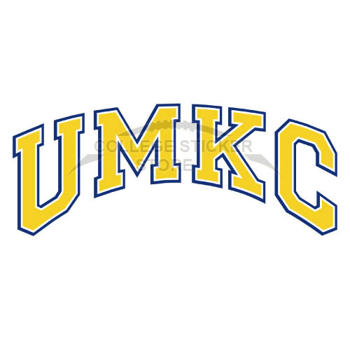 Diy UMKC Kangaroos Iron-on Transfers (Wall Stickers)NO.6697