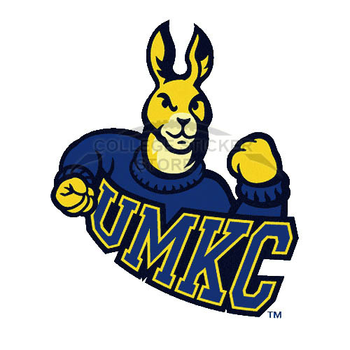 Diy UMKC Kangaroos Iron-on Transfers (Wall Stickers)NO.6698