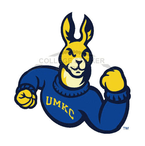 Diy UMKC Kangaroos Iron-on Transfers (Wall Stickers)NO.6699