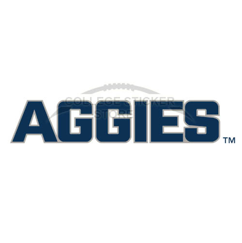 Diy Utah State Aggies Iron-on Transfers (Wall Stickers)NO.6742