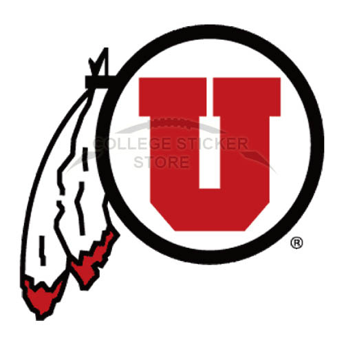 Diy Utah Utes Iron-on Transfers (Wall Stickers)NO.6752