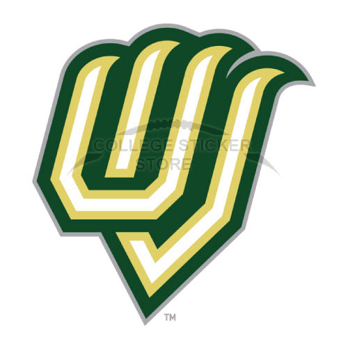 Diy Utah Valley Wolverines Iron-on Transfers (Wall Stickers)NO.6759