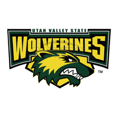 Diy Utah Valley Wolverines Iron-on Transfers (Wall Stickers)NO.6762