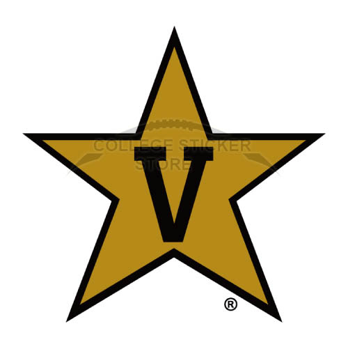 Diy Vanderbilt Commodores Iron-on Transfers (Wall Stickers)NO.6792