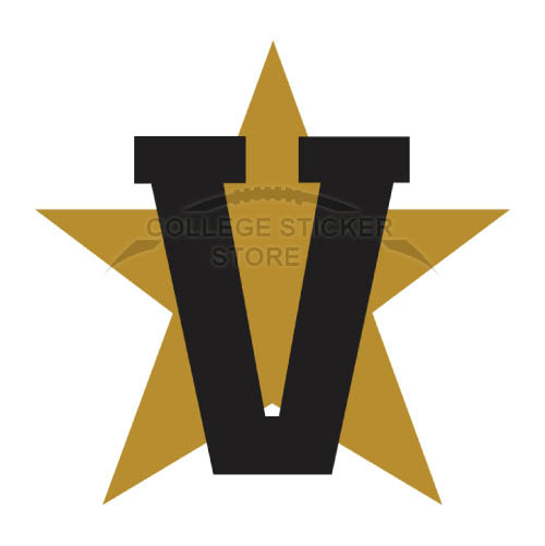 Diy Vanderbilt Commodores Iron-on Transfers (Wall Stickers)NO.6795