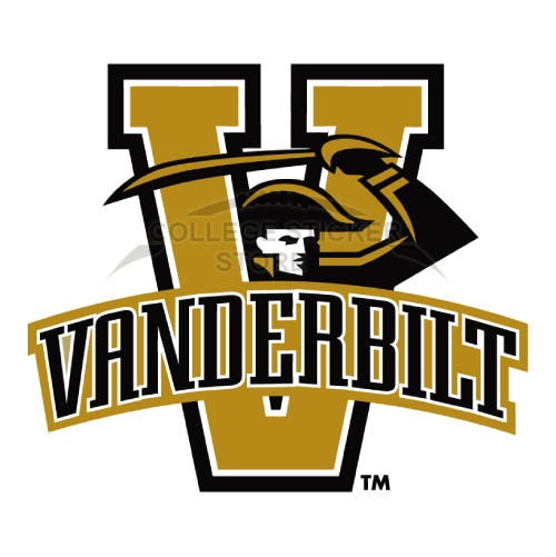 Diy Vanderbilt Commodores Iron-on Transfers (Wall Stickers)NO.6796