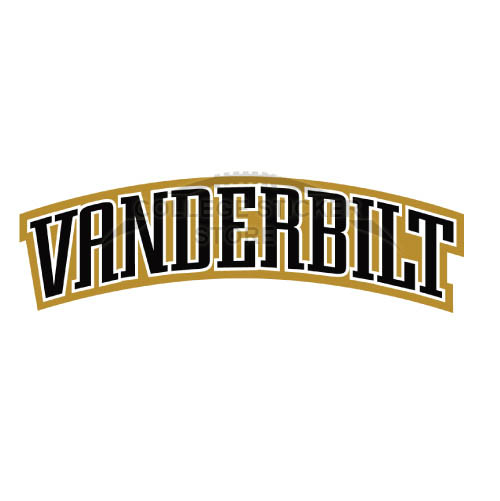 Diy Vanderbilt Commodores Iron-on Transfers (Wall Stickers)NO.6799