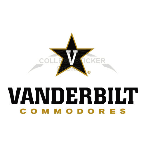 Diy Vanderbilt Commodores Iron-on Transfers (Wall Stickers)NO.6801