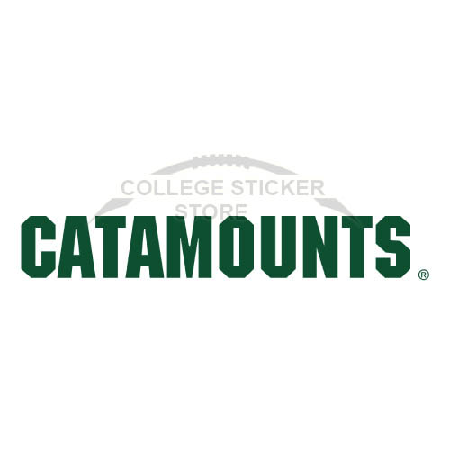 Diy Vermont Catamounts Iron-on Transfers (Wall Stickers)NO.6808