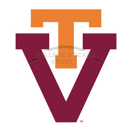 Diy Virginia Tech Hokies Iron-on Transfers (Wall Stickers)NO.6862