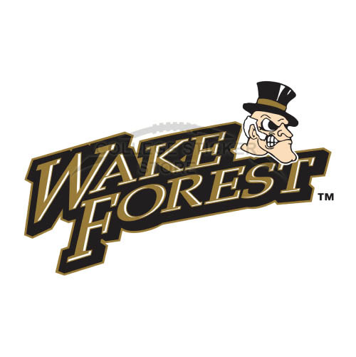 Diy Wake Forest Demon Deacons Iron-on Transfers (Wall Stickers)NO.6872