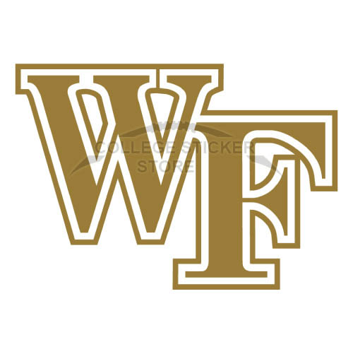Diy Wake Forest Demon Deacons Iron-on Transfers (Wall Stickers)NO.6874