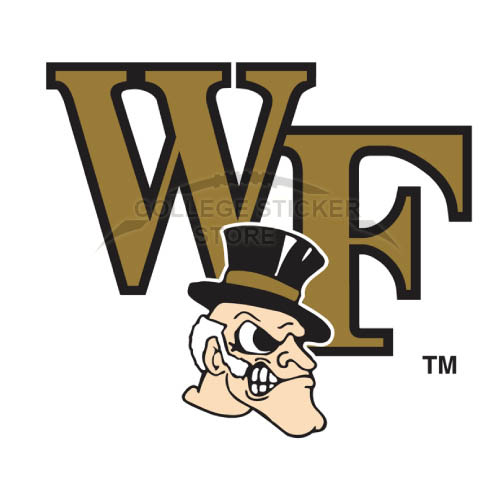 Diy Wake Forest Demon Deacons Iron-on Transfers (Wall Stickers)NO.6875