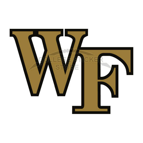 Diy Wake Forest Demon Deacons Iron-on Transfers (Wall Stickers)NO.6880