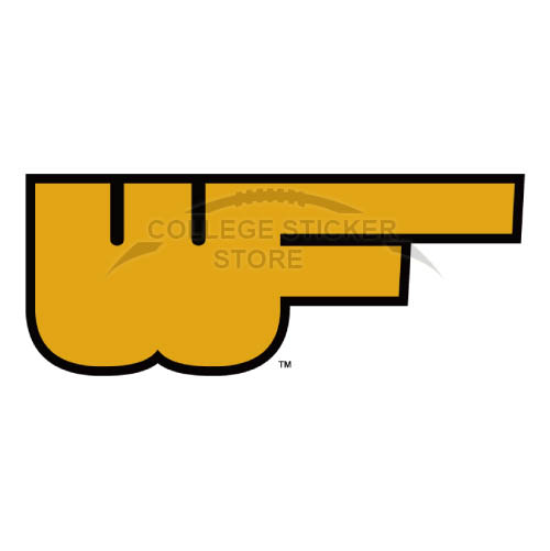 Diy Wake Forest Demon Deacons Iron-on Transfers (Wall Stickers)NO.6881