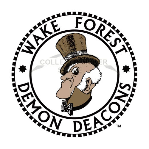 Diy Wake Forest Demon Deacons Iron-on Transfers (Wall Stickers)NO.6882