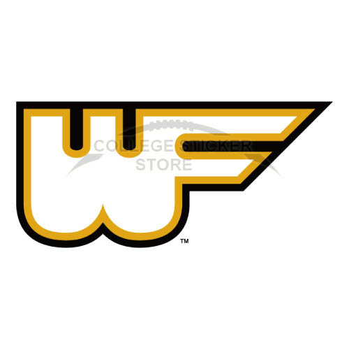 Diy Wake Forest Demon Deacons Iron-on Transfers (Wall Stickers)NO.6883