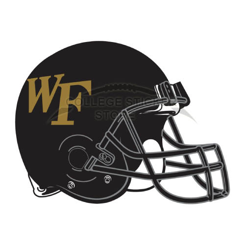 Diy Wake Forest Demon Deacons Iron-on Transfers (Wall Stickers)NO.6884