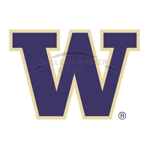 Diy Washington Huskies Iron-on Transfers (Wall Stickers)NO.6885