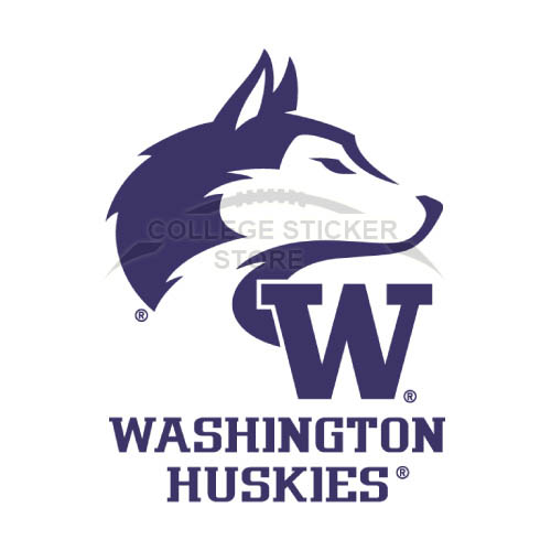 Diy Washington Huskies Iron-on Transfers (Wall Stickers)NO.6887