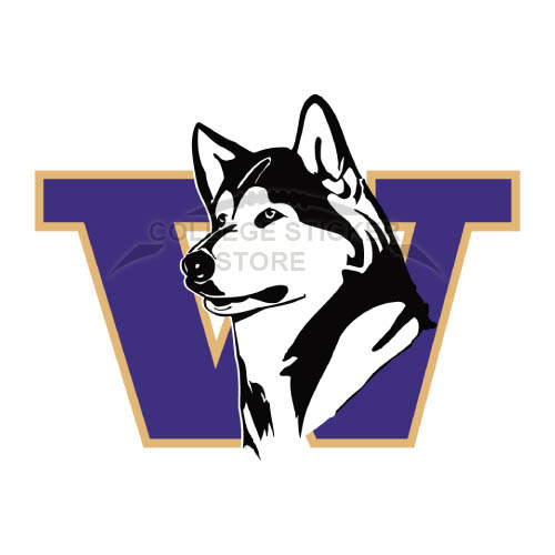 Diy Washington Huskies Iron-on Transfers (Wall Stickers)NO.6888