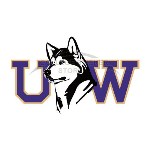 Diy Washington Huskies Iron-on Transfers (Wall Stickers)NO.6889