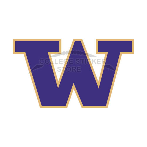 Diy Washington Huskies Iron-on Transfers (Wall Stickers)NO.6891