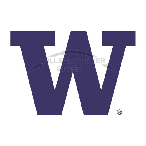 Diy Washington Huskies Iron-on Transfers (Wall Stickers)NO.6894