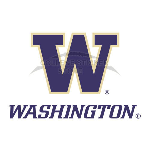 Diy Washington Huskies Iron-on Transfers (Wall Stickers)NO.6895