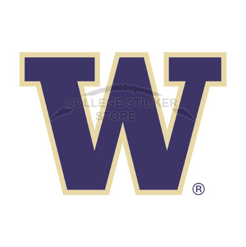 Diy Washington Huskies Iron-on Transfers (Wall Stickers)NO.6896